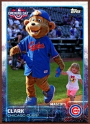 2015 Topps Opening Day Mascots #M05 Clark Baseball Card