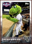 2015 Topps Opening Day Mascots #M06 Chicago White Sox Baseball Card