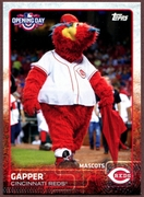 2015 Topps Opening Day Mascots #M07 Gapper Baseball Card