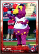 2015 Topps Opening Day Mascots #M09 Slider Baseball Card