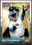 2015 Topps Opening Day Mascots #M12 Billy the Marlin Baseball Card
