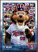 2015 Topps Opening Day Mascots #M15 TC Bear Baseball Card