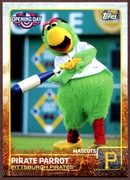 2015 Topps Opening Day Mascots #M19 Pirate Parrot Baseball Card