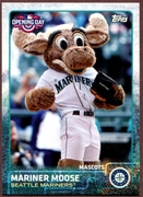 2015 Topps Opening Day Mascots #M21 Mariner Moose Baseball Card