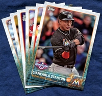 2015 Topps Opening Day Miami Marlins Baseball Cards Team Set