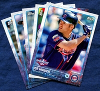 2015 Topps Opening Day Minnesota Twins Baseball Cards Team Set