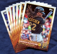 2015 Topps Opening Day Pittsburgh Pirates Baseball Cards Team Set