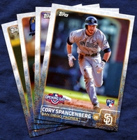 2015 Topps Opening Day San Diego Padres Baseball Cards Team Set