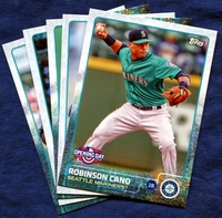 2015 Topps Opening Day Seattle Mariners Baseball Cards Team Set