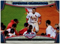 2015 Topps Opening Day Superstar Celebrations #SC16 Kolten Wong Baseball Card