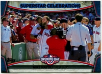 2015 Topps Opening Day Superstar Celebrations #SC18 Mike Napoli Baseball Card