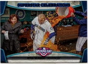 2015 Topps Opening Day Superstar Celebrations #SC22 Kyle Seager Baseball Card
