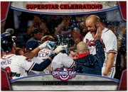 2015 Topps Opening Day Superstar Celebrations #SC25 Evan Gattis Baseball Card