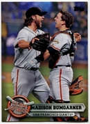 2015 Topps Opening Day Team Spirit #TS03 Madison Bumgarner Baseball Card