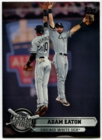 2015 Topps Opening Day Team Spirit #TS10 Adam Eaton Baseball Card