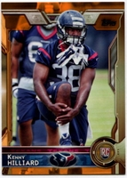 2015 Topps Orange #488 Kenny Hilliard RC Football Card - 58/75