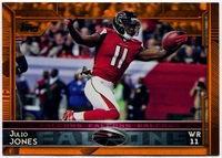 2015 Topps Orange #55 Julio Jones Football Card - 13/75