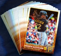 2015 Topps Pittsburgh Pirates Baseball Cards Team Set