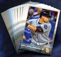 2015 Topps San Diego Padres Baseball Cards Team Set
