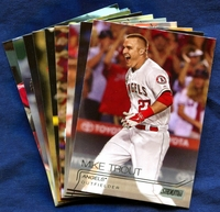 2015 Topps Stadium Club Los Angeles Angels of Anaheim Baseball Cards Team Set