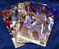 2015 Topps Stadium Club Pittsburgh Pirates Baseball Cards Team Set