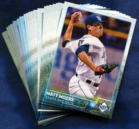 2015 Topps Tampa Bay Rays Baseball Cards Team Set