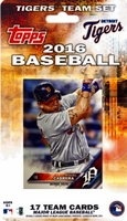 2016 Detroit Tigers Topps MLB Factory Baseball Cards Team Set
