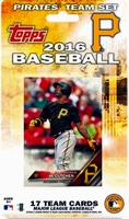 2016 Pittsburgh Pirates Topps MLB Factory Baseball Cards Team Set
