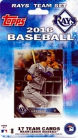 2016 Tampa Bay Rays Topps MLB Factory Baseball Cards Team Set