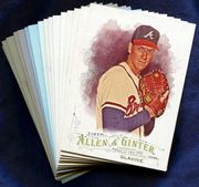 2016 Topps Allen and Ginter Atlanta Braves Baseball Card Singles