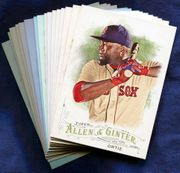2016 Topps Allen and Ginter Boston Red Sox Baseball Card Singles