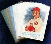 2016 Topps Allen and Ginter Los Angeles Angels Baseball Card Singles