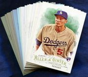 2016 Topps Allen and Ginter Los Angeles Dodgers Baseball Card Singles