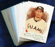 2016 Topps Allen and Ginter Miami Marlins Baseball Card Singles