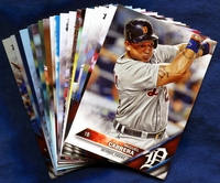 2016 Topps Detroit Tigers Baseball Cards Team Set