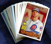 2016 Topps Heritage Chicago Cubs Baseball Card Singles