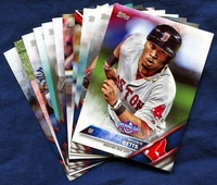 2016 Topps Opening Day Boston Red Sox Baseball Cards Team Set