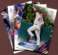 2016 Topps Opening Day Los Angeles Angels of Anaheim Baseball Cards Team Set
