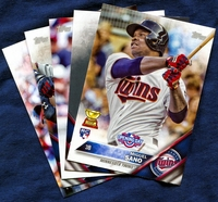 2016 Topps Opening Day Minnesota Twins Baseball Cards Team Set