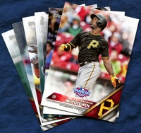 2016 Topps Opening Day Pittsburgh Pirates Baseball Cards Team Set