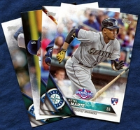 2016 Topps Opening Day Seattle Mariners Baseball Cards Team Set