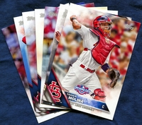 2016 Topps Opening Day St Louis Cardinals Baseball Cards Team Set