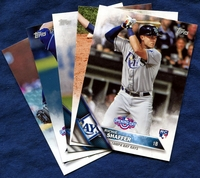 2016 Topps Opening Day Tampa Bay Rays Baseball Cards Team Set