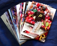 2016 Topps Pittsburgh Pirates Baseball Cards Team Set