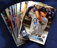 2016 Topps Tampa Bay Rays Baseball Cards Team Set