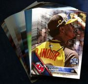 2016 Topps Update Cleveland Indians Baseball Card Singles
