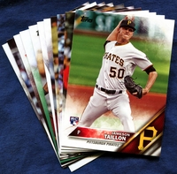 2016 Topps Update Pittsburgh Pirates Baseball Cards Team Set
