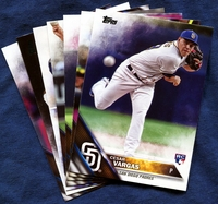 2016 Topps Update San Diego Padres Baseball Cards Team Set