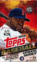 2016 Topps Update Series Baseball Cards Hobby Box