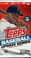 2016 Topps Update Series Baseball Cards Hobby Pack